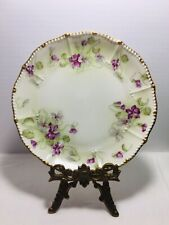 P & B Limoges Elite L France Hand Painted China Plate 1900-1914