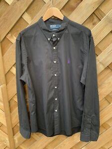 Polo By Ralph Lauren Slim Fit Shirt XXL in black