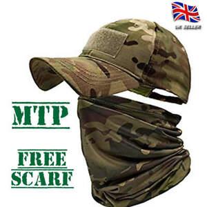 MTP Camo baseball cap Free Snood neck gaiter face scarf hunting hiking camping