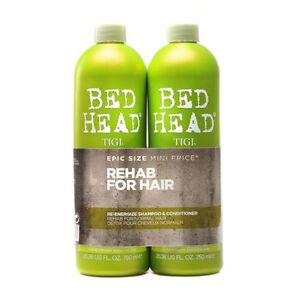 Tigi Bed Head Re-Energize Shampoo & Conditioner Duo 750ml | Urban Antidotes