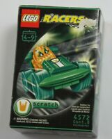2001 LEGO Racers SCRATCH  #4572  New Sealed in Box