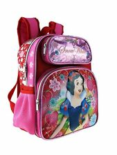 "Disney Princess Snow White 12"" Shine Pink Color Small Backpack"