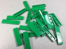 New Lego 1X4 Tile Green (x25) 2431 Authentic Finishing Tiles