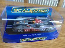 Scalextric Audi r10 tdi POWER No. 8 DPR c2809-Excellent