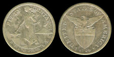 50 Centavos 1908-S US-Philippine Silver Coin Key Date