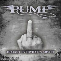 "Pump  ""Against Everyone's Advice"" Factory Sealed, German Heavy Metal, Accept UDO"