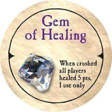 Gem of Healing Ultra Rare 2007 True Dungeon Token