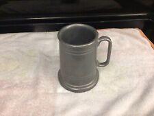 Vintage Pewter Beer Mug