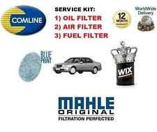 FOR HONDA LOGO 1.3 HATCHBACK 2000-2001 NEW OIL AIR FUEL FILTER SERVICE KIT