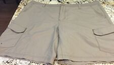 Magellan Cargo Style Shorts Beige Khaki Men's Size 40 Measures 42