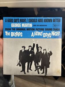 George Martin / The Beatles,A Hard Day's Night Promo, Single instrumental