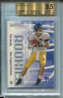 2000 Skybox Impact Football 27 Tom Brady Rookie Card RC Graded BGS Gem Mint 9.5