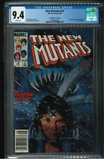 THE NEW MUTANTS #18 CGC 9.4 CANADIAN PRICE VARIANT - FIRST APPEARANCE OF WARLOCK