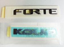 KIA FORTE / CERATO KOUP 2010-2016 Genuine Rear Trunk FORTE + KOUP Emblem 2EA