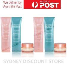 BULK SALE Christie Brinkley Day Cream, Face Wash & Scrub 3 PIECE Set x 2 w/ box