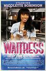 WAITRESS Broadway Sara Bareilles Nicolette Robinson Cast Signed Poster