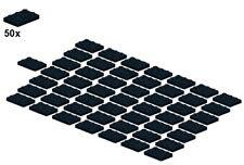 Used LEGO® - Plates - Black - 3021-04 - 2x3 (50Stk) - Platte - Schwarz
