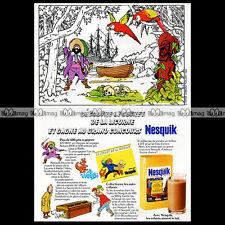 TINTIN & Grand Concours NESQUIK Hergé Kuifje 1982 - Pub / Publicité / Ad #A807