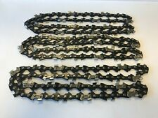 """3 x Bosch AKE30s Electric Chainsaw 16"""" Chains 1.3mm (050) 57 Links"""