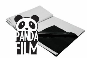 BLACK/WHITE POLY 10' x 10' ft 25' 50' 100' Panda Film Reflective Sheet Grow Room
