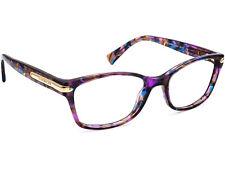 Coach Women's Eyeglasses HC 6065 T 5288 Confetti Purple Frame 51[]17 135