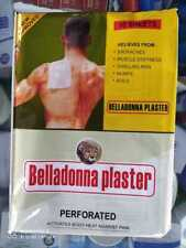 Belladonna Plaster (Set of 10 Plasters) - Herbal Pain Relief Patch