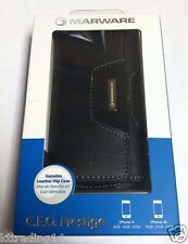 New Marware CEO Prestige Leather Hip Case for Apple iPhone 4/4S Black ABCP11