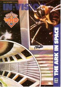 Doctor Who In Vision (The Ark in Space) - Signed by NICK HOBBS