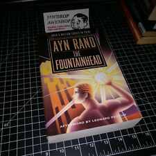 THE FOUNTAINHEAD AYN RAND PAPERBACK BOOK NOVEL BARELY USED GREAT CONDITION