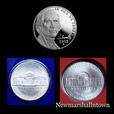 2018 P+D+S Jefferson Proof Nickel Mint Set
