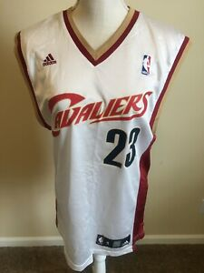 LeBron James #23 Cleveland Cavaliers Adidas NBA Finals Jersey Youth C/CH/P Small