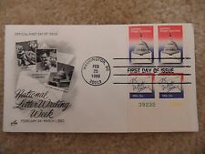 US FDC: Letter Writing (1980) Scott#1810a