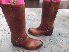 Frye Carson Harness (3470105) Boot - Women's Size 6.5 B - Cognac
