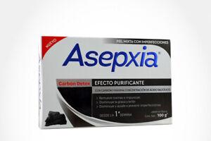 ASEPXIA CHARCOAL ACNE BAR SOAP  JABON PARA ACNE ASEPXIA CARBON