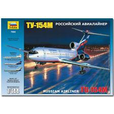 ZVEZDA 7004 Tu-154m Russian Airliner Aircraft Model Kit 1:144