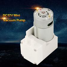 DC12V Mini Vacuum Pump Negative Pressure Suction Pumping Pump 70L/min -76KPA inm