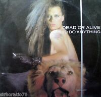 "DEAD OR ALIVE I'll Do Anything 12"" Single"