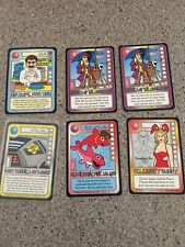 6 Killer Bunnies Omega cards No Supe Celebrity Caribbean Baby on Board Herring