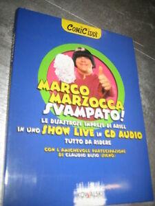 LIBRO + CD AUDIO - MARCO MARZOCCA - SVAMPATO! - COMIC CIDDI' LIBRO + CD AUDIO-