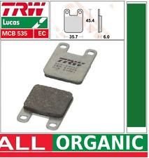 Plaquettes frein Avant Organic TRW MCB535EC Peugeot 50 Trekker Metal-X S1A 01-