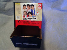 2013 PANINI ONE DIRECTION *Empty DISPENSER BOX niall,zayn,liam payne,harry,louis