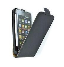 Samsung i9000 Galaxy S  - Housse Etui à Clapet Cuir + 1 protection écran