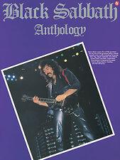 Black Sabbath ANTHOLOGY Guitar Sheet Music TAB Book NEW