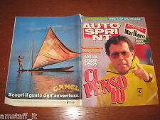 AUTOSPRINT 1989/11=CESARE FIORIO=PEUGEOT 405=