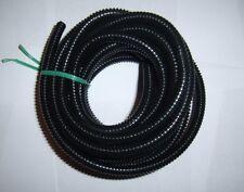 "1/4"" Split Wire Loom Conduit 10 Ft. Polyethylene Tubing Car Power Amp Automotive"