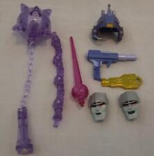 MEGATRON ACCESSORIES LOT transformers masterpiece mp 36 face gun mace sword part