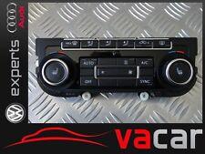 ! LIKE NEW ! 5K0907044GM CLIMATRONIC CONTROL PANEL KLIMABEDIENTEIL VW GOLF !4km!