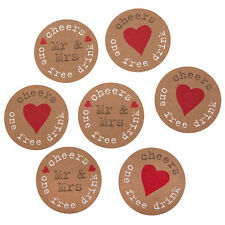 Drink Tokens x25 Wedding Favours Just My Type