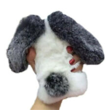 Fluffy Rabbit Fur Bunny Soft Warm Cover Case For Apple iPhone 6/6S
