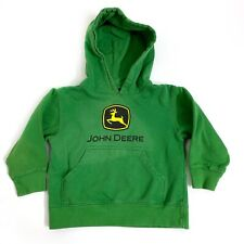 Property of John Deere Tractor Green Hoodie Hooded Shirt Boys Size 4 NWT  #19